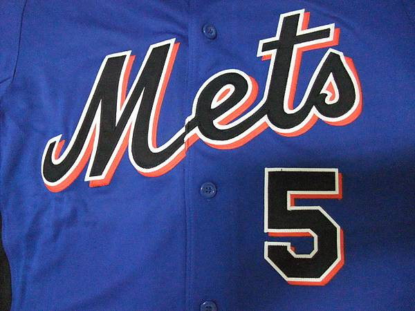 New York Mets 2011 Cool Base BP Jersey--胸前