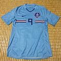 2008-10荷蘭客場球員版Ruud van Nistelrooy--正面