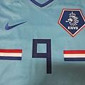 2008-10荷蘭客場球員版Ruud van Nistelrooy--胸前