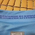 2008-10荷蘭客場球員版Ruud van Nistelrooy--衣領