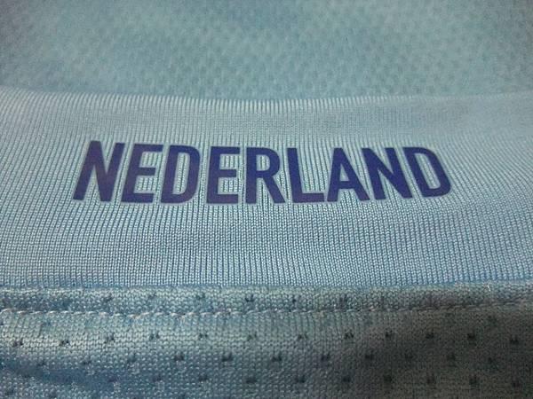 2008-10荷蘭客場球員版Ruud van Nistelrooy--背領