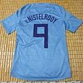 2008-10荷蘭客場球員版Ruud van Nistelrooy--背面