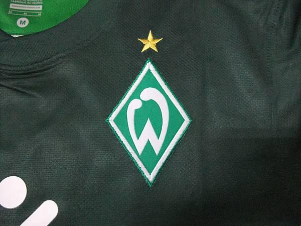 Werder Bremen 2010-11 Home--隊徽