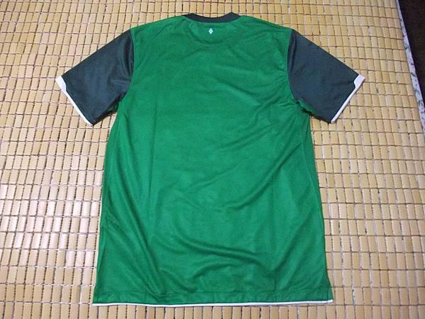 Werder Bremen 2010-11 Home--背面