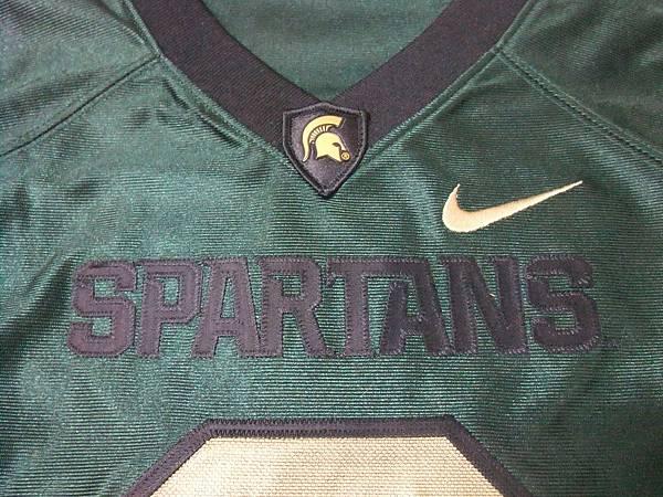 MSU Spartans 2011 Pro Combat Rivalry--領口
