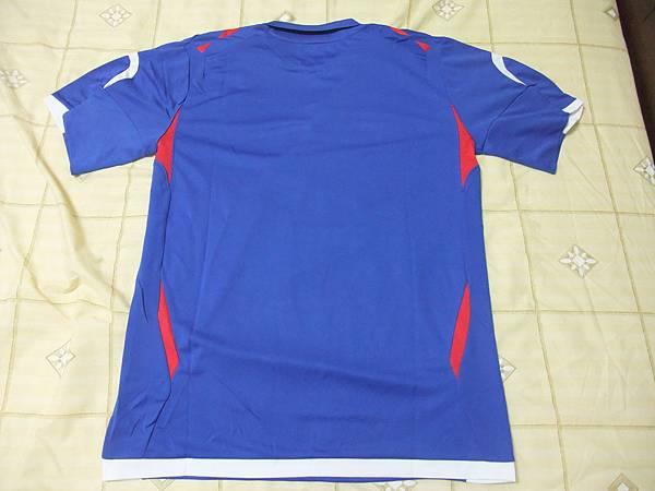 中華民國2007-08主場--背面