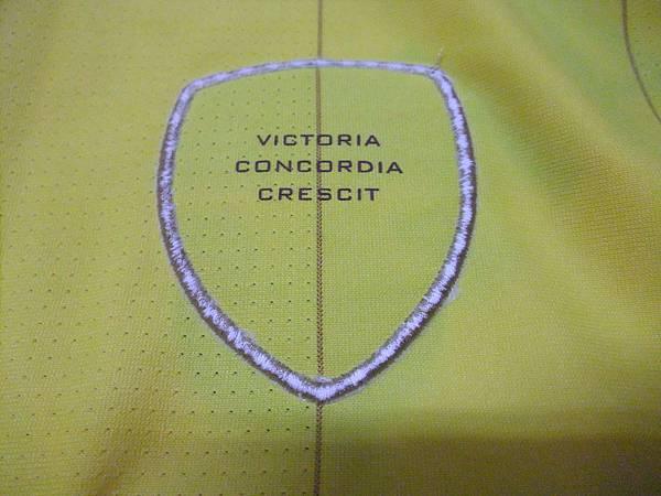 Arsenal 201011客場--隊徽背面