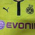 Borussia Dortmund 201213 Home - 胸前
