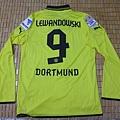 Borussia Dortmund 201213 Home - 背面