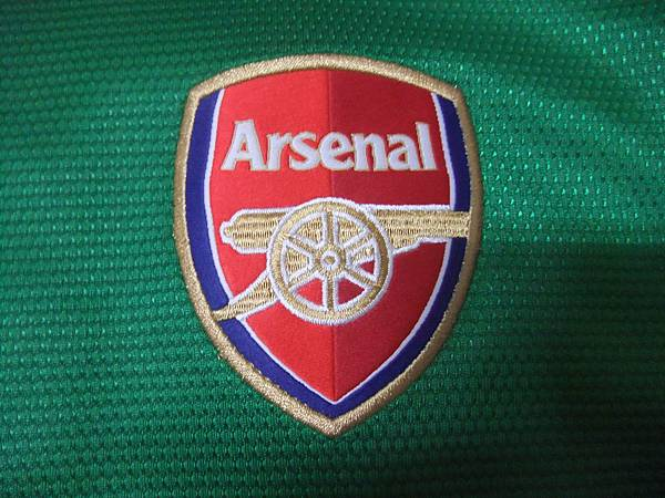Arsenal 201213 GK--隊徽.JPG