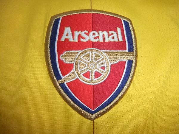 Arsenal 201213 Third--隊徽.JPG