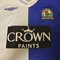 08-09 Blackburn Rovers 主場--胸前.JPG