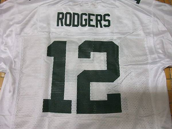 Green Bay Packers白領--12 Aaron Rodgers