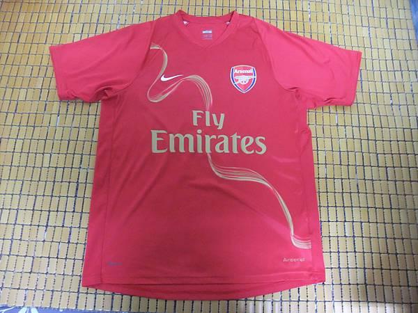 Arsenal 200708 Training Red - 正面.JPG