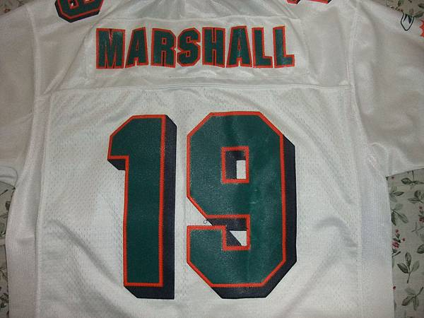 Miami Dolphins 201012 Road -- 19 Brandon Marshall.JPG