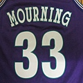 夏洛特黃蜂1994-95 Replica (Alternate)--33 Alonzo Mourning.JPG