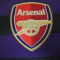 Arsenal 201213客場--隊徽.JPG
