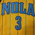 New Orleans Hornets 201011 Alternate - 胸前.JPG