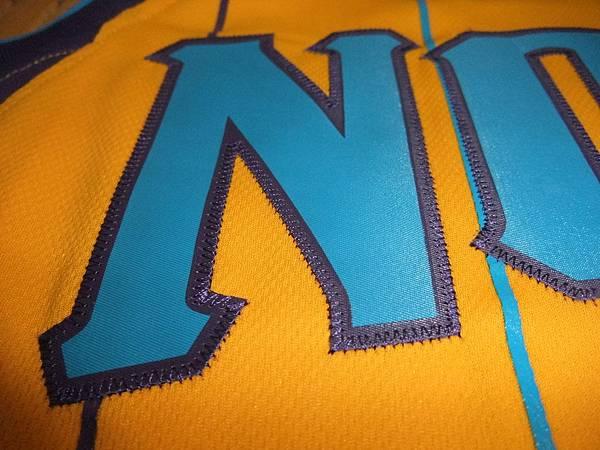 New Orleans Hornets 201011 Alternate - 新版電繡2.JPG