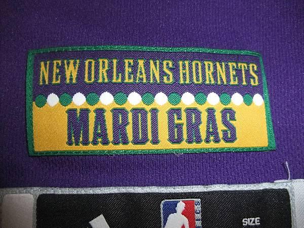 New Orleans Hornets 200911狂歡節 - Mardi Gras下標.JPG