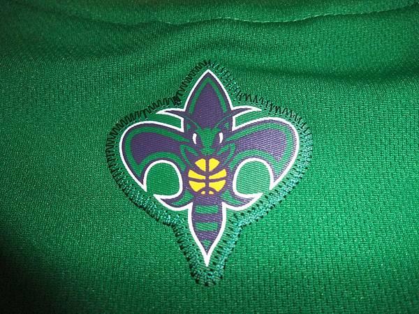 New Orleans Hornets 200911狂歡節 - 隊徽.JPG