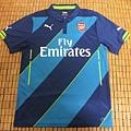 Arsenal 201415 Third--正面.JPG