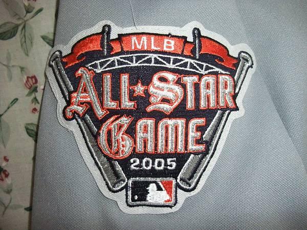 Detroit Tigers 2005 All Star (A)--明星賽臂章.JPG