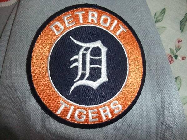 Detroit Tigers 2005 All Star (A)--隊徽臂章.JPG