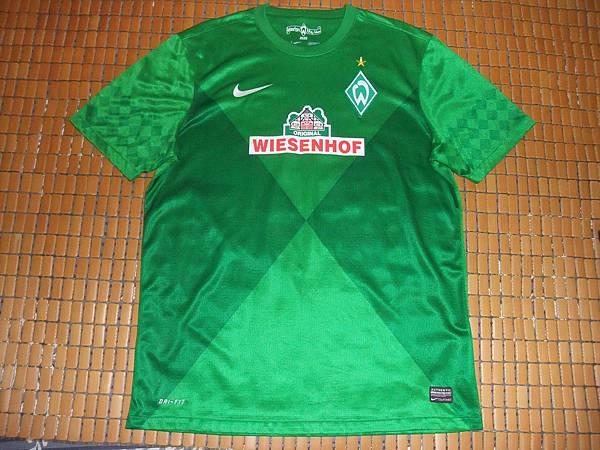 Werder Bremen 2012-13 Home--正面.JPG