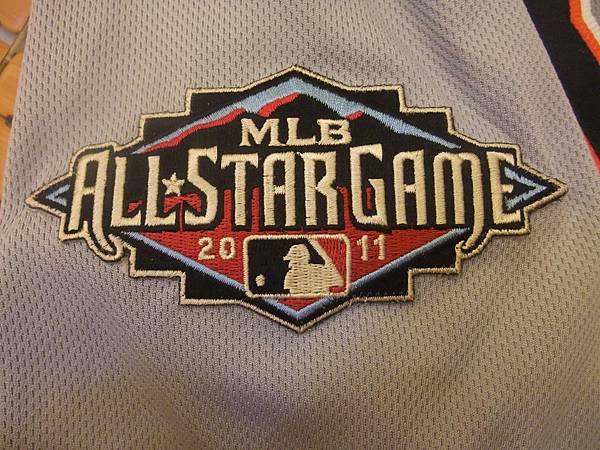 Detroit Tigers 2011 All Star (A)--2011明星賽臂章.JPG