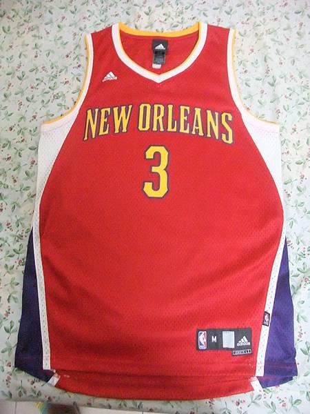 New Orleans Hornets 200911情人節二版 - 正面.JPG