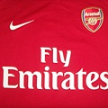 Arsenal 200809主場--胸前