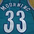 夏洛特黃蜂1989-96客場球員版--33 Alonzo Mourning.JPG