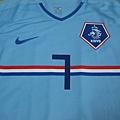 2008-10荷蘭客場Robin van Persie--胸前Mark.JPG