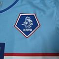 2008-10荷蘭客場Robin van Persie--荷蘭足協獅子.JPG