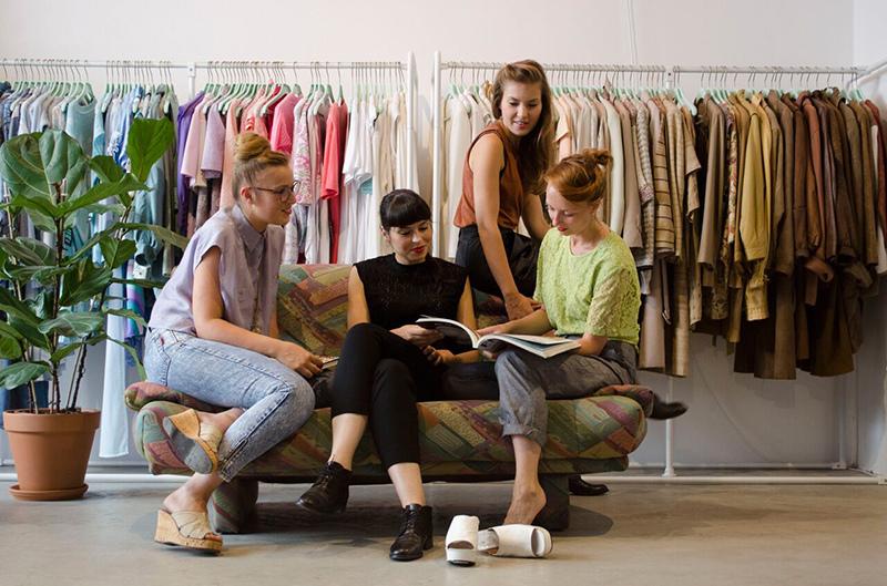 循環經濟,綠果報導,租賃取代擁有,荷蘭,時尚圖書館,Lena,石安牧場