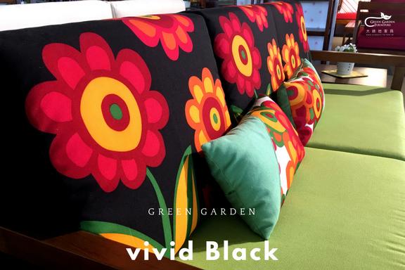 花版椅墊背枕1
