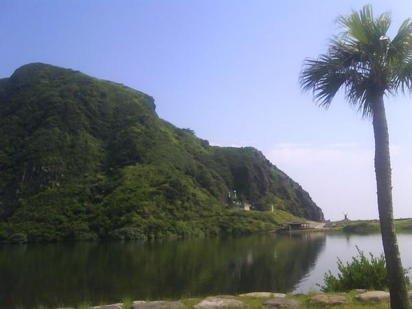 龜山島龜尾湖