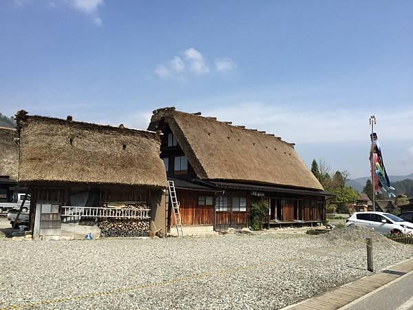2016春-日本白川鄉合掌村之旅