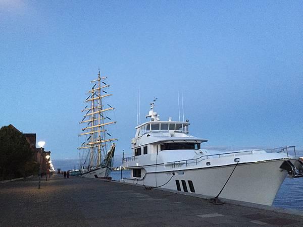 丹麥哥本哈根阿瑪里港口