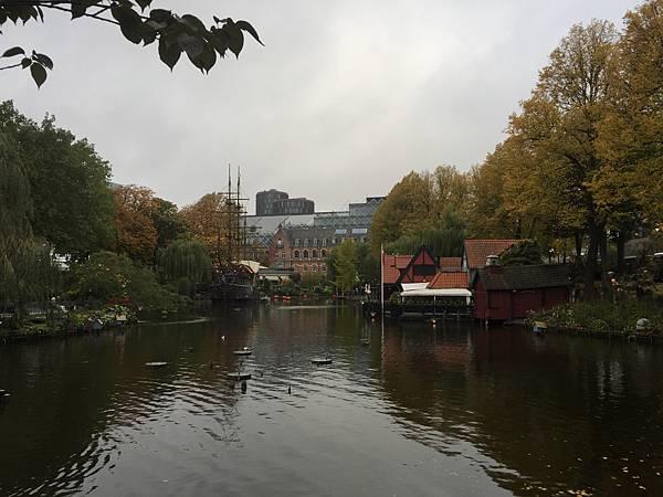 丹麥哥本哈根趣伏里樂園
