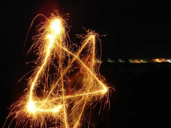 仙女棒星星