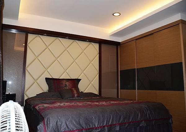 高雄室內設計---博愛大樓 主臥室2