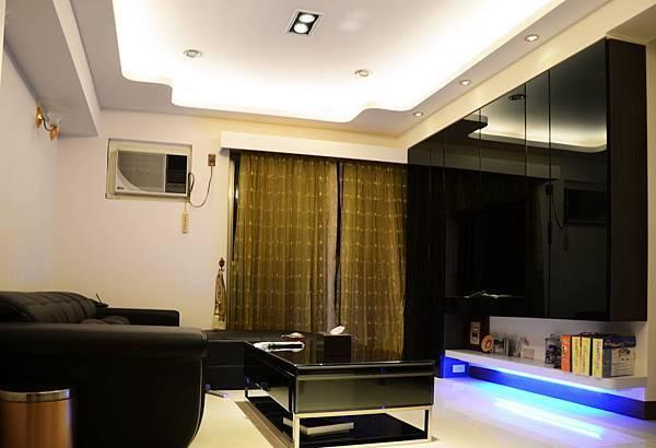 高雄室內設計---博愛大樓 客廳1