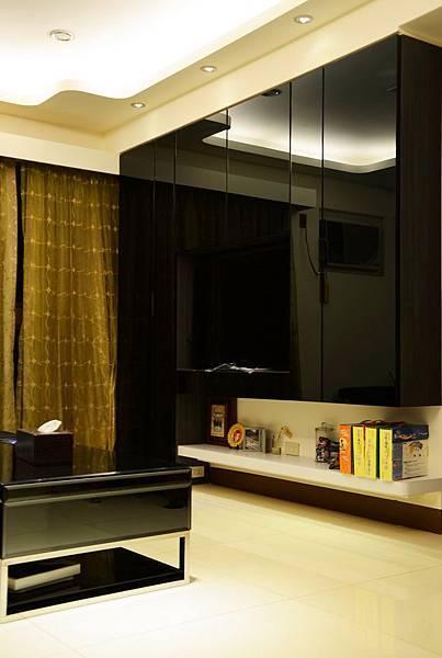 高雄室內設計---博愛大樓 客廳2