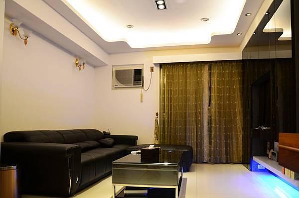 高雄室內設計---博愛大樓 客廳4