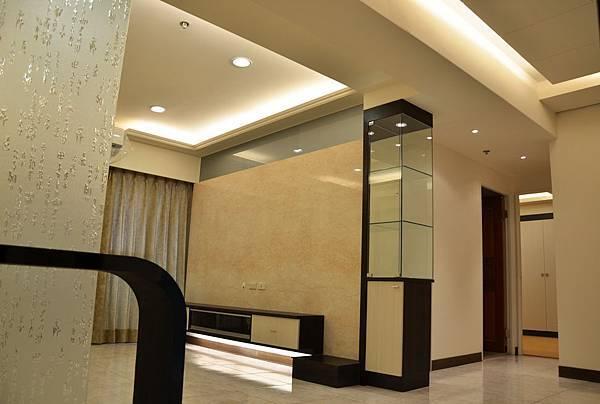 高雄室內設計-三民區尊峰李公館 3客廳
