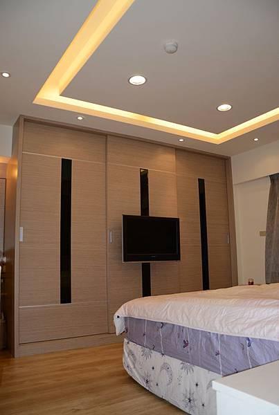 高雄室內設計-九如路蔡公館 1主臥室