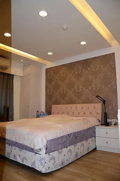 高雄室內設計-九如路蔡公館 2主臥室
