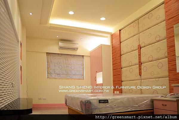 高雄室內設計-阿蓮 農舍改建 主臥室1